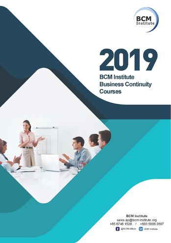 Course Brochure 2019_Business Continuity Courses